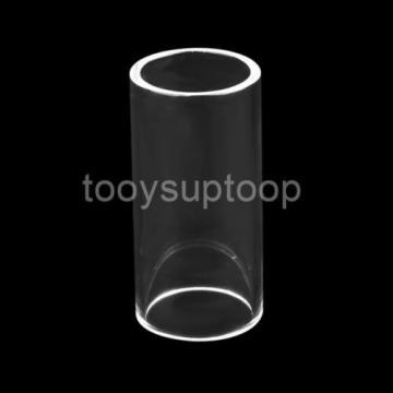 50x20mm Electric Guitar Slide Pyrex Glass Bottle Neck Finger Knuckle Clear