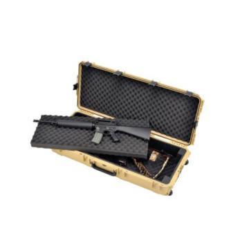 SKB 3I-4217-DB Tan Double Rifle Case