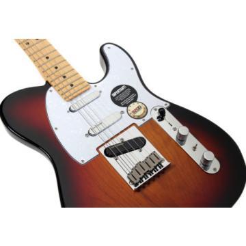 920D Fender American Standard Tele Plus Version II Mod Lace Gold Sunburst w/Case