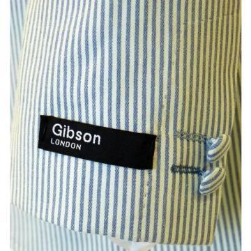 SALE! NEW GIBSON LONDON SUMMER TEXTURE STRIPE BLAZER JACKET G724024CH (NAVY) s6c