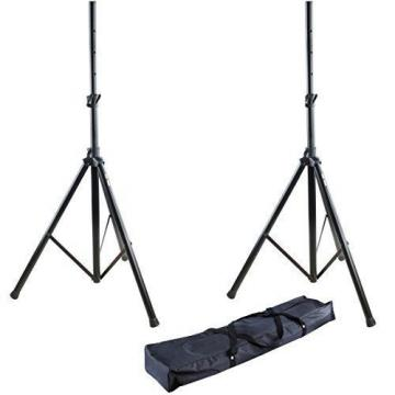 Hola HPS-200 PRO Adjustable Height 6ft Tripod PA Speaker Stand w/ Carrying Bag