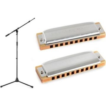 Hohner 532BX-A + On-Stage Stands MS9701TB+ + Hohner 532BX-C - Value Bundle