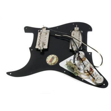 920D Custom Loaded Pickguard Duncan Pearly Gates Black 11102-45-B, 11102-49-B HH