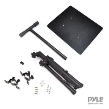"""Pyle Laptop Projector Stand Heavy Duty Tripod Height Adjustable 28"""" To 41"""" Fo..."""