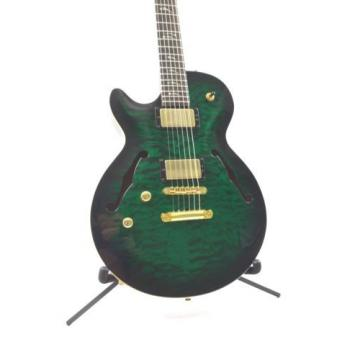 Carvin Left Handed SH550 Semi-Hollow Electric Guitar - Emerald Burst  w/OHSC