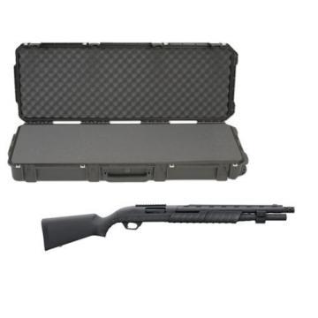 "SKB Waterproof Plastic Molded 42.5"" Gun Case Remington 887 Pump Action Shotgun"