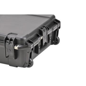 """SKB 3I-4217-7B-E Waterproof Case 42"""" X 17"""" X 8"""" Empty W/ In-Line Skate Wheels"""