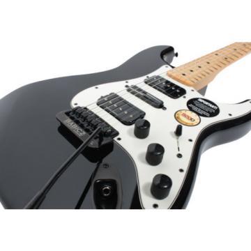 920D Fender Standard Strat Mod Duncan P-Rails Babicz BK/PA w/Bag