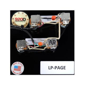 Duncan SH-18 Whole Lotta Humbucker Set, Gold + Free Page Wiring Harness