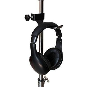Vizcaya Headphone Holder Tambourine Holder Hanger Clip for Microphone/Musical