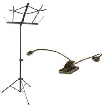 Compact Sheet Music Stand Plus Orch Light Pack