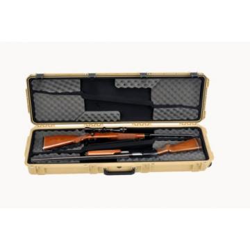 Desert Tan SKB 3i-5014-DR-T Double Rifle Case With foam & Pelican TSA- 1750 Lock