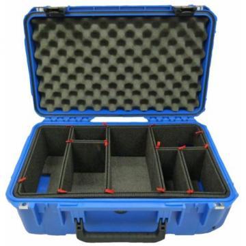 SKB Blue 3i-2011-7BL-TP With TrekPak dividers & 2 TSA Locking latches.
