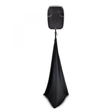 NEW Pyle PSCRIM3B Universal Speaker/Light Stand Scrim - 3 Sided (Black)