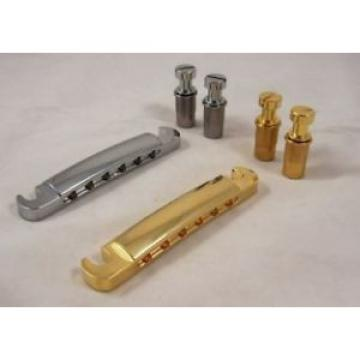 STOP BAR TAILPIECE & ANCHORS FOR GIBSON ETC /CR/GD