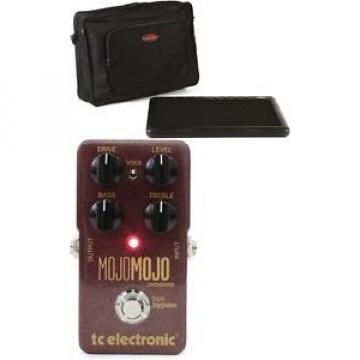 TC Electronic MojoMojo Overdrive + SKB SKB-PS-8 8-Port Pedalbo... - Value Bundle