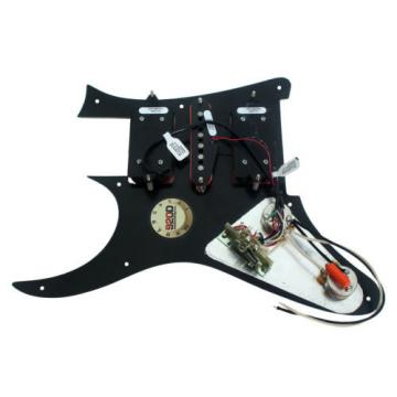 920D Loaded HSH Ibanez JEM Pickguard DiMarzio Evolution Vai BK/PK
