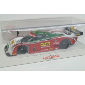 SKB43010 KID BOX x SPARK 1:43 Lancia LC 2 ITALIA SPORTS #6 Fuji 1000km 1985