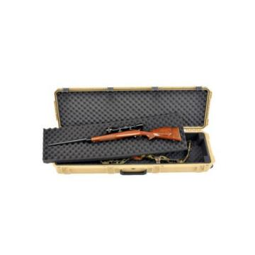 Desert Tan SKB 3i-5014-DB-T Double Rifle case & 2 Lock latches