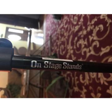 Music Stand Adjustable Folding Metal Sheet Music Stand Holder w Carrying Case