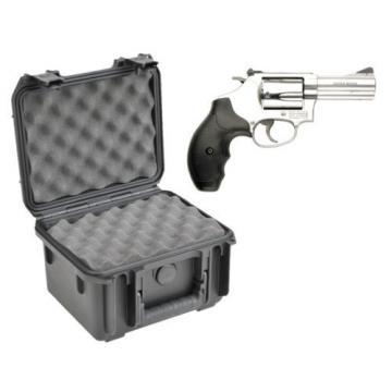 SKB Waterproof Plastic Gun Case Smith & Wesson Model 60 5 Shot .38 .357 Revolver