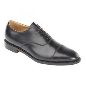 Solovair Heritage All Leather Capped Gibson Oxford Tie Formal Shoes
