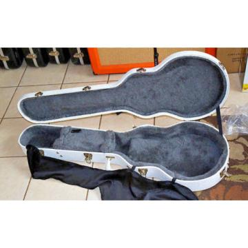 New White Gibson USA Les Paul Standard Custom Junior Jr LE HardShell Guitar Case