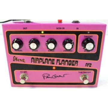 Ibanez AF2 Paul Gilbert Signature Airplane Flanger Guitar Effects Pedal - In Box
