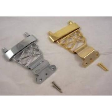 SHORT GUITAR TRAPEZE TAILPIECE WIRED FRAME / CR/GD