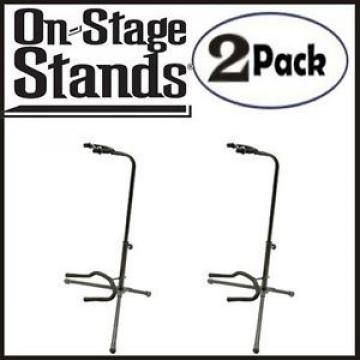 On Stage Classic Guitar Fret Rest Single Guitar Stands 2 Pack - AONSXCG4K1