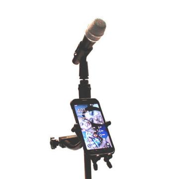 Hamilton Stand X System Series Smart Phone Holder w/Mic Tube Clamp in Green