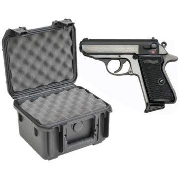 SKB Waterproof Plastic Gun Case Walther Ppk Semi Automatic Handgun Pistol New