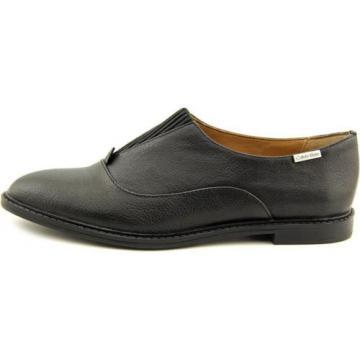 Calvin Klein Daphne Gibson Women US 7 Black Loafer NWOB 2613
