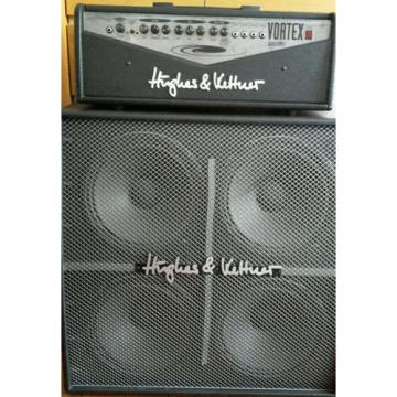 Hughes & Kettner Vortex Black Series 100W Gitarrenverstärker (Topteil und Box)