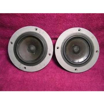 Pair Vintage Celestion Rola Mid Range T 2938 Cast Speakers made in England