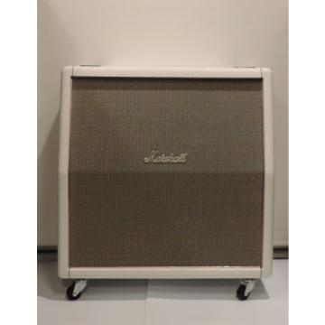 """Marshall 1960AX 4x12"""" Angled 100W LIMITED EDITION WHITE Speaker Cabinet RRP$1699"""