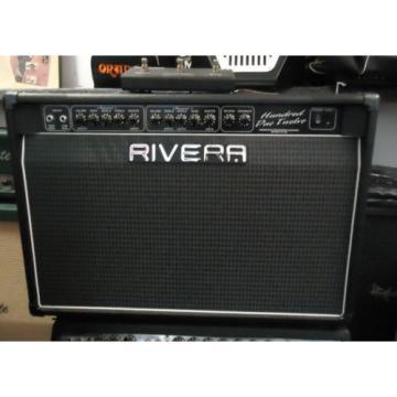 RIVERA HUNDRED DUO TWELVE 100 watts 2X12 tube combo amplifier. Excellent!!