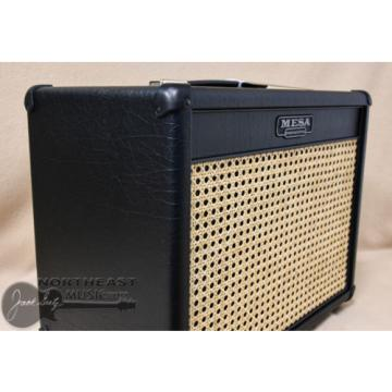 Mesa Boogie 1x12 Lonestar Cabinet in Black Taurus with Wicker Grille