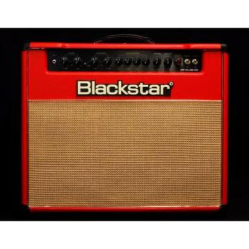 "New! Blackstar HT Club 40 1x12"" 40-Watt Guitar Tube Combo Amplifier - Red"
