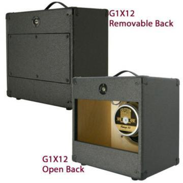1x12 Guitar Speaker Extension Cabinet W/8 Ohms CELESTION Vintage 30 B Blk Tolex