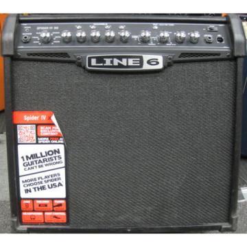 Line 6 Spider IV 30 1x12 Guitar Combo Amp 30-watt Amplifier
