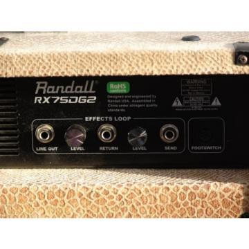 Customized Randall RX75DG2 75W 1x12 Guitar Combo Amp