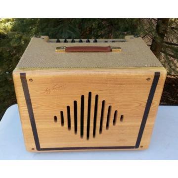 Jay Turser Classic 30-B Bass Amp Amplifier Tweed w/ Blonde Wood Vintage Style