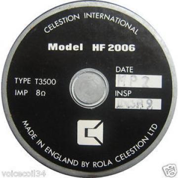 REPLACEMENT DIAPHRAGM Tweeter ROLA CELESTION HF2006 T3500 CELESTION 66 serie 2