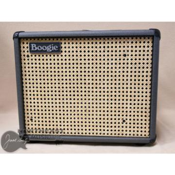 Mesa Boogie 1x12 Thiele Guitar Cab in Brittish Slate Bronco with Wicker Grille