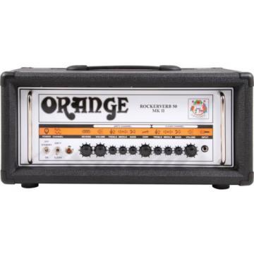 "Orange Rockerverb 50 MKII 50 Watt Amp Head + PPC412 4x12"" Speaker Cab RRP $4598"