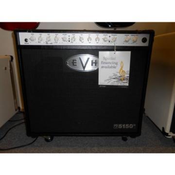 EVH 5150 iii 50 Watt Tube 1x12 Combo In black! Great Versatile Amp! LOOK!