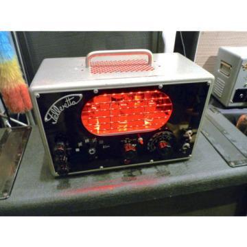 Felleretta 3/6 Watt E-Gitarren Röhrenverstärker im 60er Jahre Prüfgerät Gehäuse