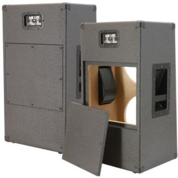 2X12 Vertical Slanted guitar Speaker Empty Cabinet Beauty white Tolex G2X12VSL