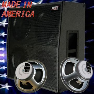 4x12 Guitar Speaker Extension Cabinet w/G12K100 Celestion Speakers C Black tolex